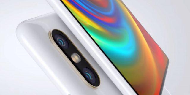 Xiaomi Mi Mix 2s красочный экран