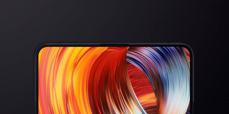 Xiaomi Mi Mix 2s верхняя часть