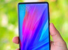 Xiaomi Mi Mix 2s насыщенный экран