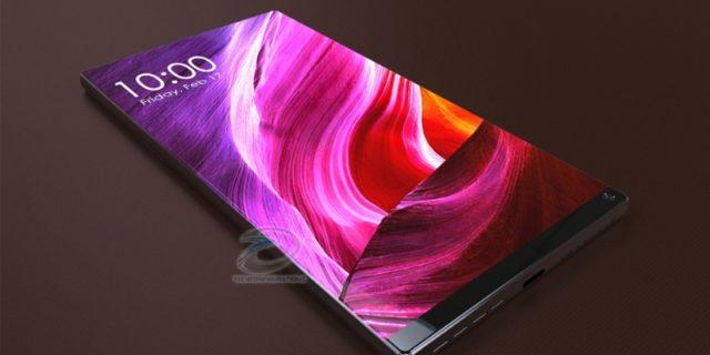 Xiaomi Mi Mix 3 насыщенный дисплей
