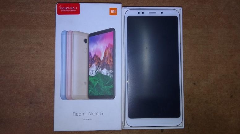 Xiaomi Redmi Note 5 распаковка