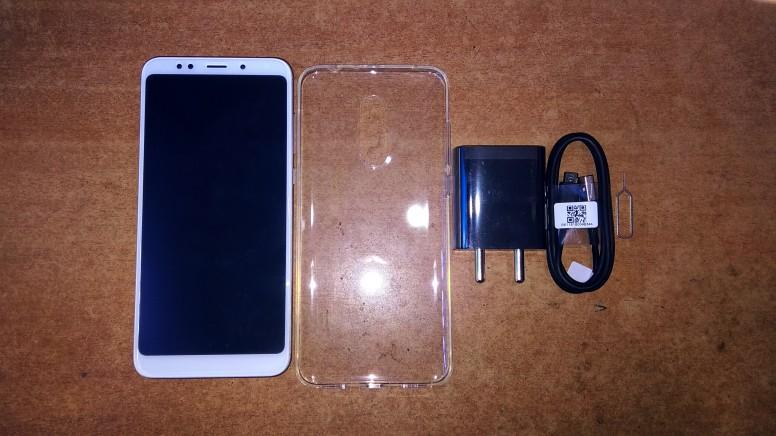 Xiaomi Redmi Note 5 комплект поставки