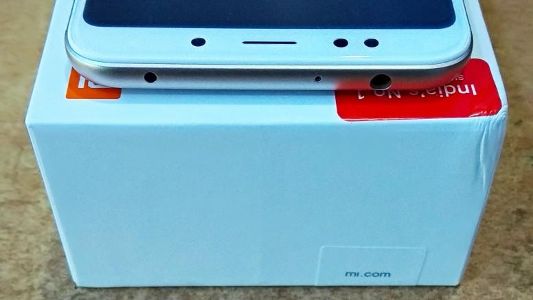 Xiaomi Redmi Note 5 верхний торец