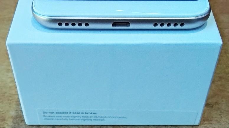 Xiaomi Redmi Note 5 нижний торец