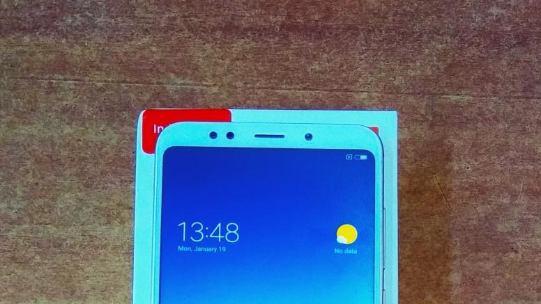 Xiaomi Redmi Note 5 верхняя часть